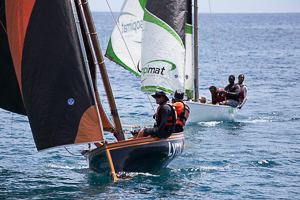Local Sailboat Regatta, Guadeloupe